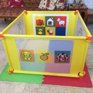 Miffy Play Fence with Mat
