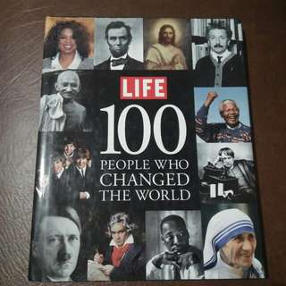 100 People Who Changed The World
