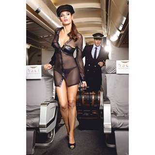 BACI Airlines / Pilot 3 piece Lingerie Set