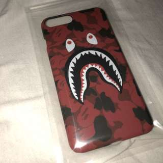 Brand new red bape iPhone 7/8 Plus case