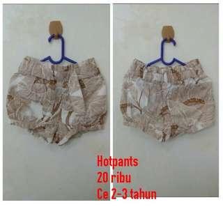 Hotpants motif