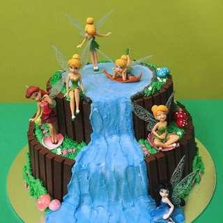 Cake Ulang Tahun Thinkerbell