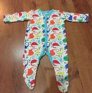 Mothercare Baby Sleepsuit
