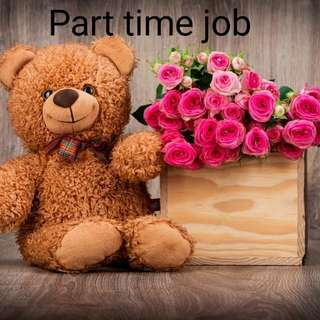 Are you looking for a part time job?