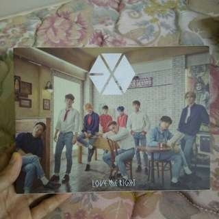 Preloved Exo Album