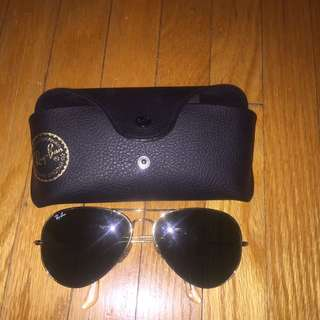 Aviator ray bans authentic
