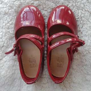 Zara Baby Red Shoes