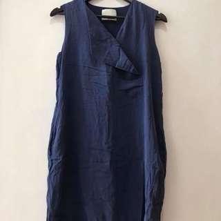 excellent condition Phillip Lim Navy dress - fits m