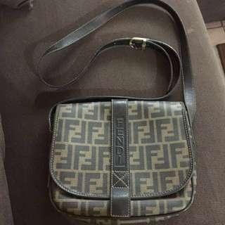 Authentic Fendi Sling/Shoulder Bag
