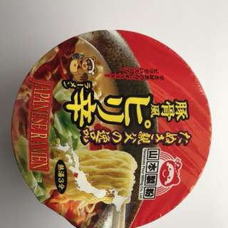Japanese bowl noodles