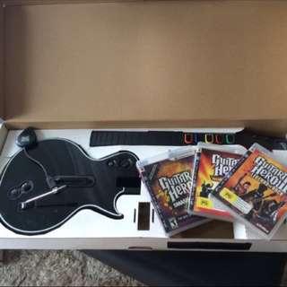 Guitar Hero & 3 Games