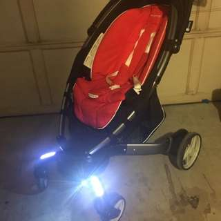 4moms origami stroller and carseat