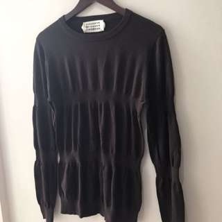 excellent condition storebought Margiela Brown sweater - fits m
