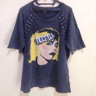 BLONDIE SHIRT Women by Stradivarius