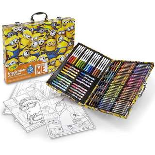 SALE! Crayola Despicable Me Inspiration Art Case, 140 Pieces, Minions, Art Set