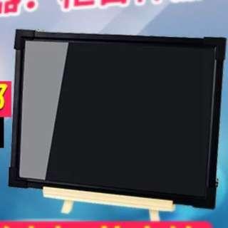 LED熒光板30x40cm發光小黑板/廣告牌