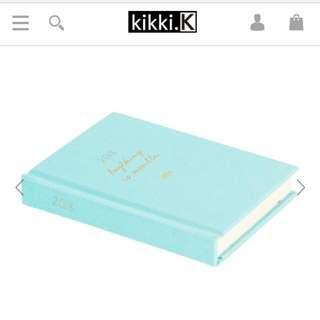 BRAND NEW KIKKI K A6 Linen Sweet diary 2018