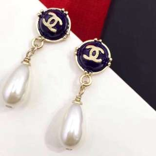 Chanel Fall winter 2017 A99039 Pear Drop Earrings