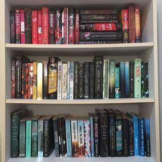 ASSORTED YA AND ADULT FICTION