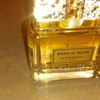 Brand new givenchy dahlia divin nectar de parfum 75ml