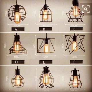 Hanging lamp case cover