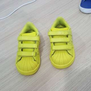 Adidas Superstar Supercolor yellow/neon