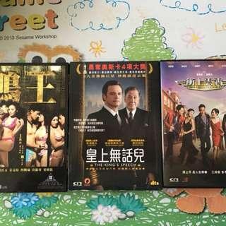 原裝正版DVD三套