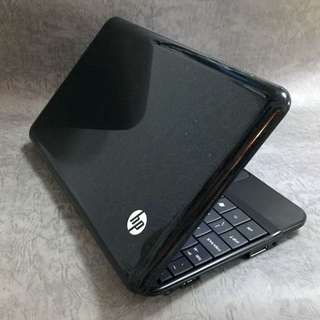 "HP mini 10.1"" 100% Work 正常運作 輕巧 方便攜帶 Windows 7 Starter Piano Black Netbook Notebook"