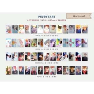 Seventeen Official Photocards