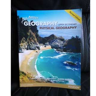 Secondary 3, Upper Secondary, Sec 3,  textbook for sale, Geography