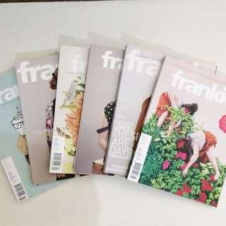 Frankie magazines