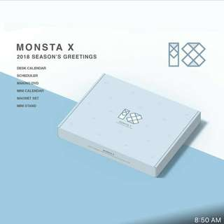 MONSTA X Season Greetings 2018