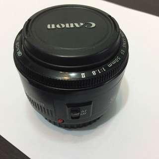 Canon 50mm 1/8 ll