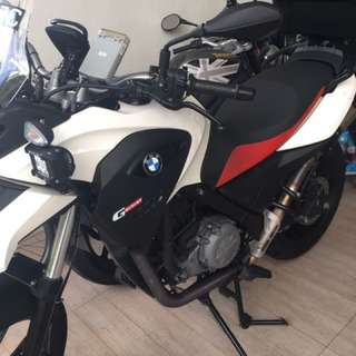 BMW G650GS (agent bike) 2014 Dec