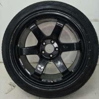 17 '' Sport Rim With Tyre 5x100 (SR738)
