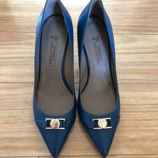 Versace Blue Heels (38)