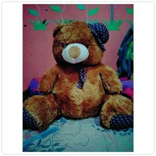 Boneka bear brown.  No deff