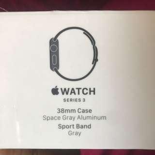 Apple watch series 3 (Gray Sport Band)