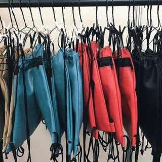 Water Resistant Drawstring Bags