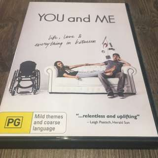 You & me DVD for sale