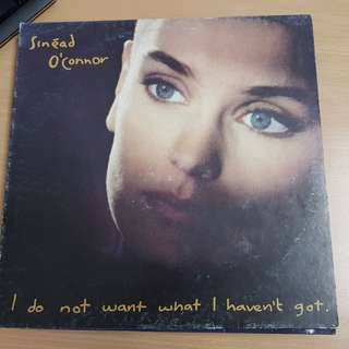 Sinead O'Conner I Do Not Want What I Cannot Get Vinyl LP Original Pressing Rare