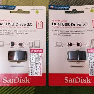 Sandisk 32GB手指