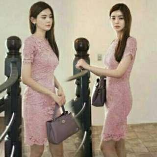 Dress namami pink