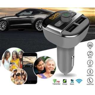 Bluetooth Car MP3 Player with LED Display