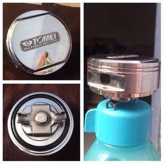 Tomei Oil Cap, Caliber Underseat Subwoofer, Bonet lock