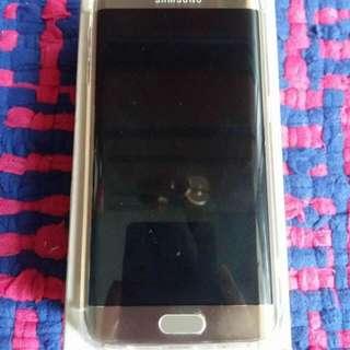 Samsung galaxy s6 edge platinum gold