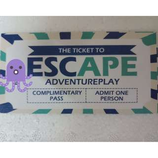 Tickets to Escape Adventureplay Penang (Dry Park And Water Park)