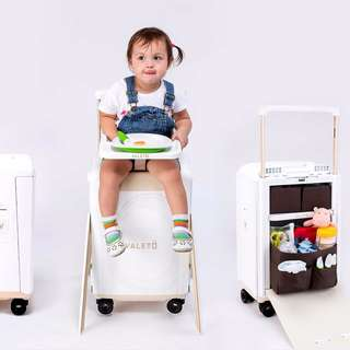Valeto Luggage Suitcase with High Chair