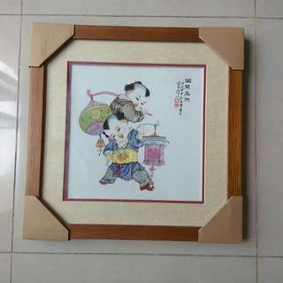 (2pcs for $50) Chinese Wall Paintings