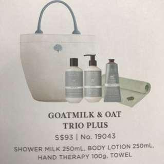 Crabtree - Goatmilk & Oat Trio Plus